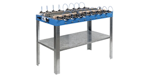 Stůl na tvarování FCP a nářadí